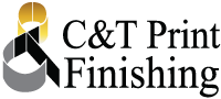 C&T Print Finishing Logo